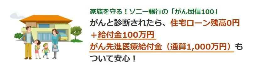 ソニー銀行のがん団信100